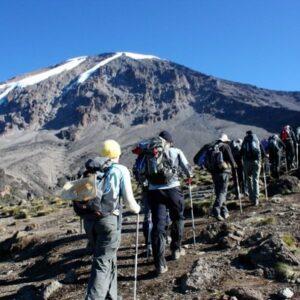 Marangu Route 5 Days Kilimanjaro Climbing