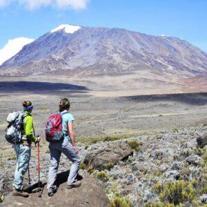 Lemosho Route 8 Days Kilimanjaro Climbing